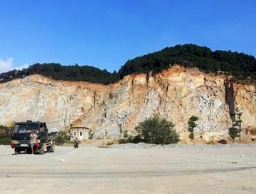 Nổ mìn tại mỏ đá khiến một tài xế xe tải tử vong