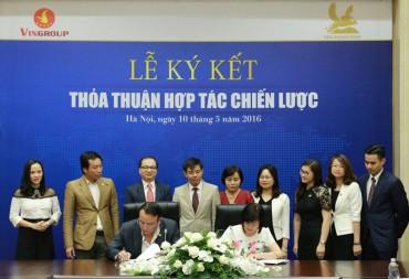 Tân Hoàng Minh hợp tác với Vingroup trong lĩnh vực bất động sản