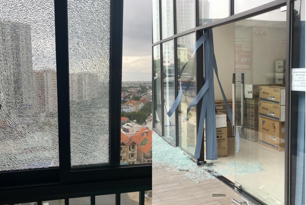 Cư dân căn hộ Vũng Tàu Gateway hoang mang vì kính cường lực vỡ