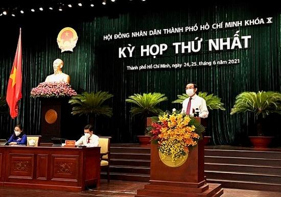 Ông Nguyễn Thành Phong tái đắc cử Chủ tịch Ủy ban nhân dân thành phố Hồ Chí Minh