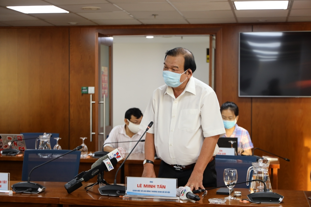 Hơn 60.000 người lao động ở thành phố Hồ Chí Minh nhận được tiền hỗ trợ