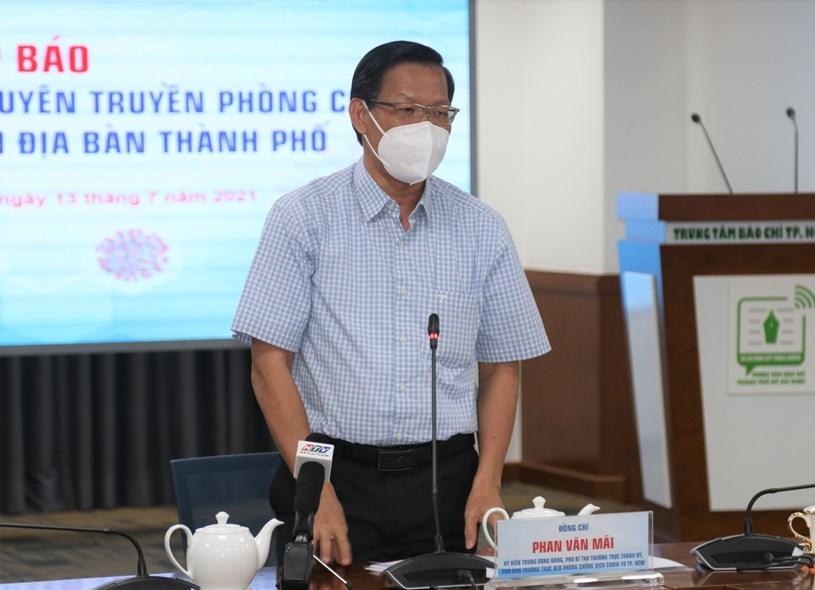 Thành phố Hồ Chí Minh có thể siết chặt phong tỏa nếu dịch bệnh gia tăng sau 15 ngày cách ly