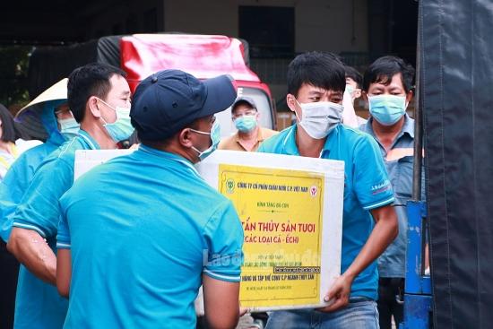Liên đoàn Lao động thành phố Hồ Chí Minh: Khẩn trương đưa lương thực đến người lao động