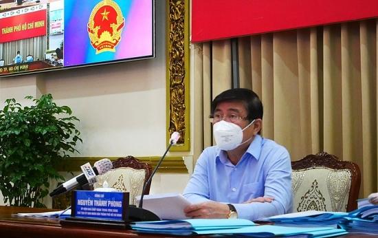Chủ tịch thành phố Hồ Chí Minh kêu gọi người dân tiếp tục chia sẻ, đồng lòng chống dịch