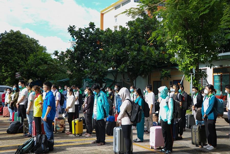 Sinh viên Trường Đại học Y khoa Phạm Ngọc Thạch xung phong chống dịch