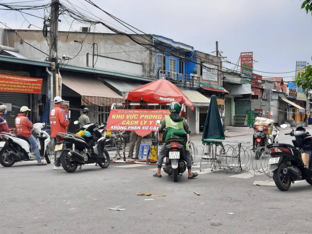 Cho phép shipper di chuyển liên quận tại thành phố Hồ Chí Minh