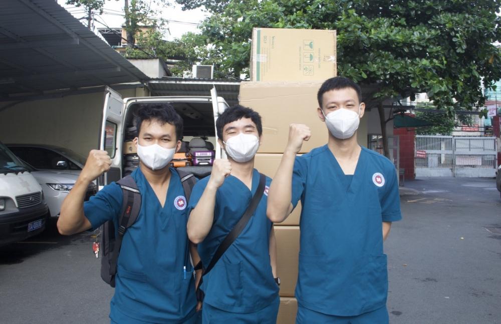 Bệnh viện 1A chi viện khẩn cấp cho Trung tâm Điều dưỡng người bệnh tâm thần