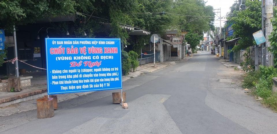 Số ca nhiễm Covid-19 ở thành phố Hồ Chí Minh đang có xu hướng giảm