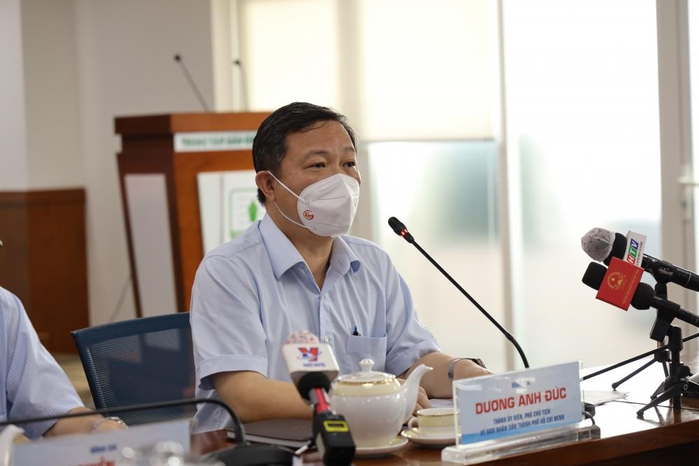 Thành phố Hồ Chí Minh còn 5 triệu người cần tiêm vắc xin Covid-19