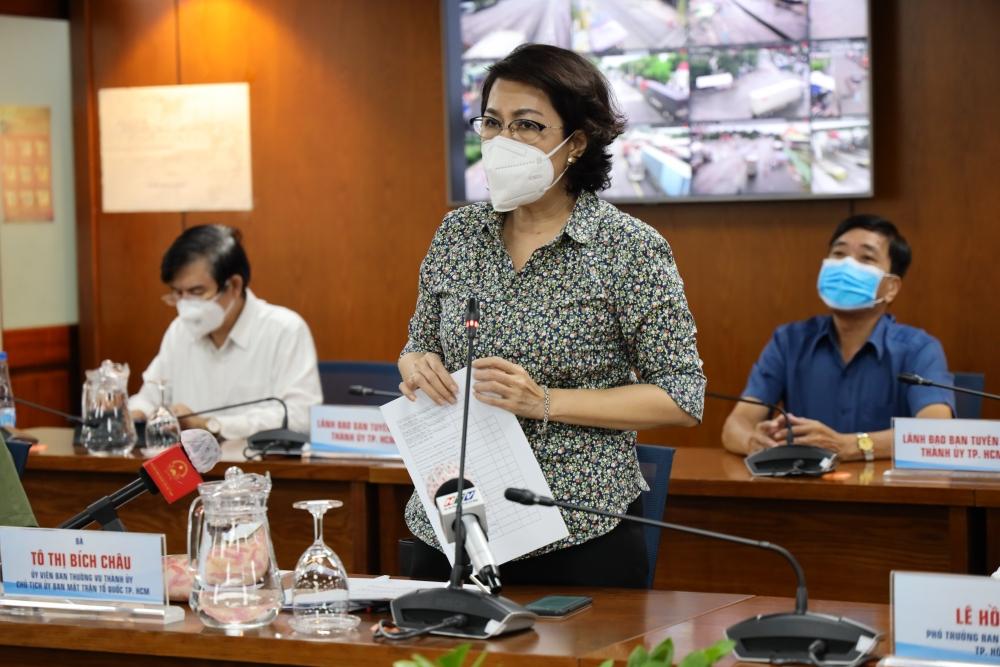 Thành phố Hồ Chí Minh: Gần 5,5 triệu người đã tiêm vắc xin, 2 triệu túi an sinh sẵn sàng đến tay người dân khó khăn