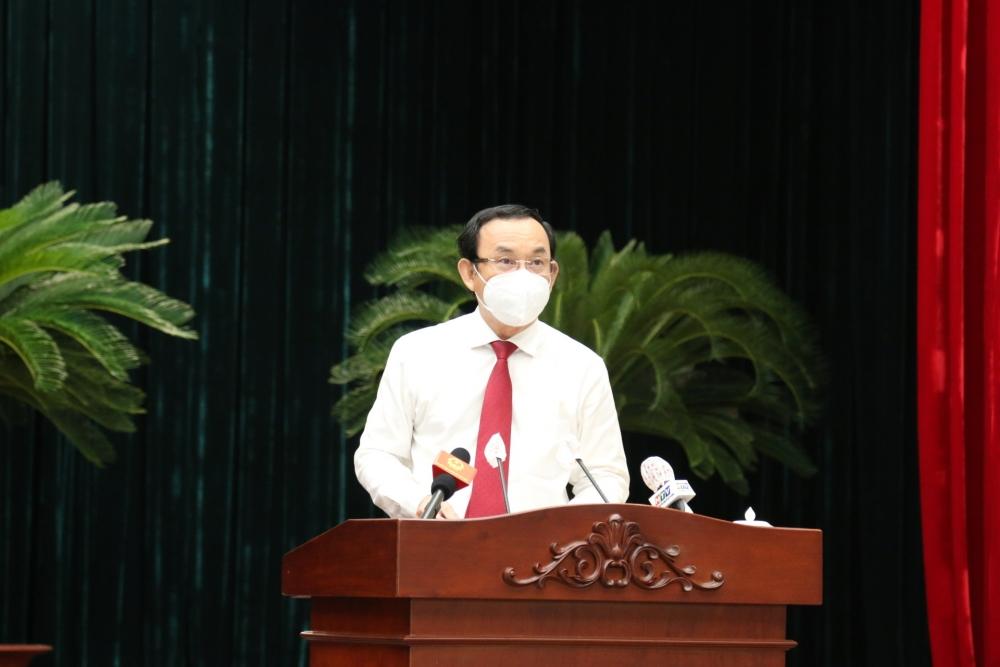 HĐND thành phố Hồ Chí Minh mặc niệm các nạn nhân tử vong vì Covid-19