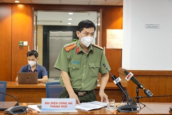 Công an thành phố Hồ Chí Minh phát hiện 63 F0 lưu thông trên đường