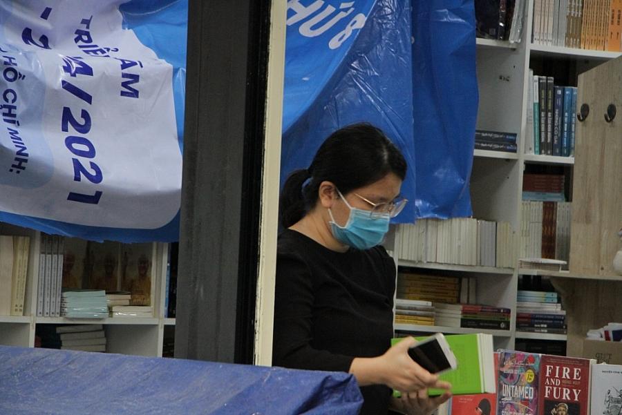 Đường Sách thành phố Hồ Chí Minh khẩn trương chuẩn bị mở cửa trở lại