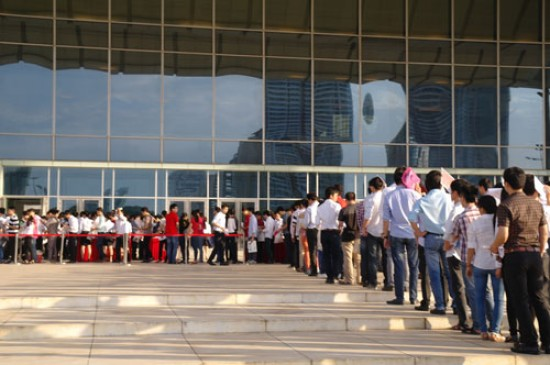 Hơn 10 nghìn  ứng viên dự tuyển vào Samsung