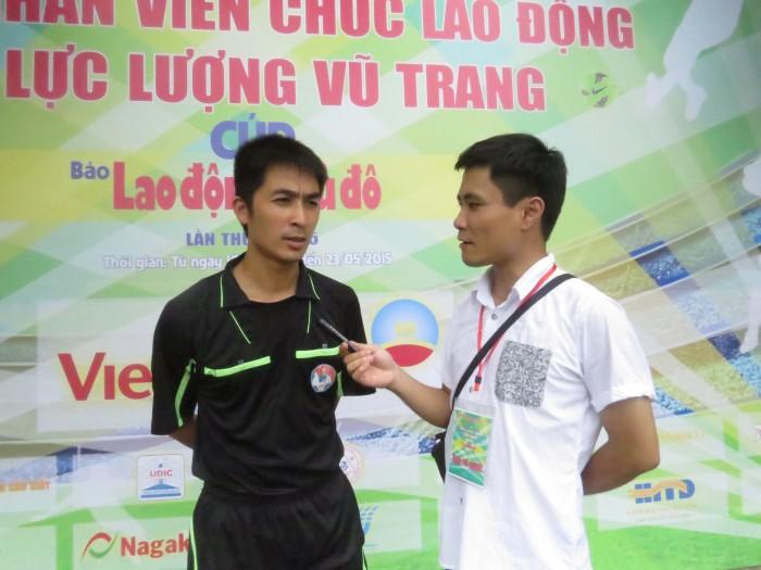 Giải bóng đá mini CNVCLĐ và lực lượng vũ trang Cúp báo Lao động Thủ đô - lần thứ 1