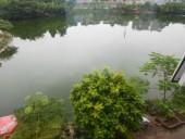 Hồ Đầm Tròn đang bị ô nhiễm