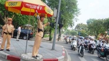 Đảm bảo trật tự an toàn giao thông vào giờ cao điểm