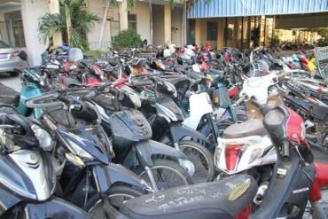 Phá đường dây trộm cắp xe máy tại Hà Nội