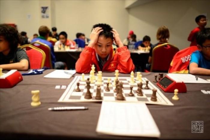 Hai kỳ thủ Việt Nam xếp hạng 5 ở giải cờ vua trẻ thế giới