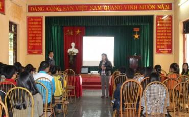 Hàng trăm công nhân Sóc Sơn được định hướng nghề nghiệp