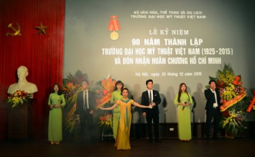 Trường Đại học Mỹ thuật Việt Nam kỷ niệm 90 năm thành lập
