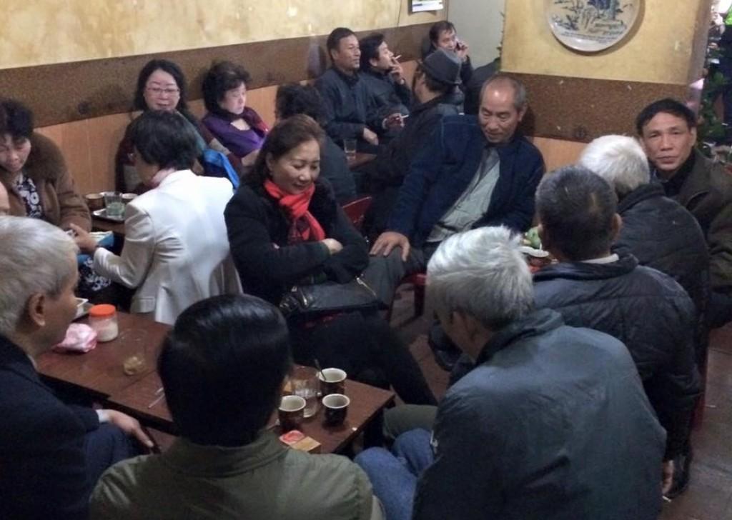 Nơi lưu giữ hồn cà phê đất Hà Thành