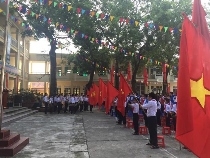 Ấn tượng lễ chào cờ ngày đầu năm học mới