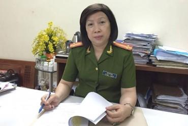 Nữ công an tận tâm vì sự bình yên của nhân dân