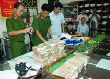 Công an Hà Nội đẩy mạnh công tác đấu tranh chống ma túy
