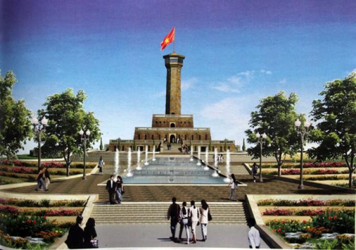 Sẽ khởi công công trình Cột cờ Hà Nội tại Cà Mau