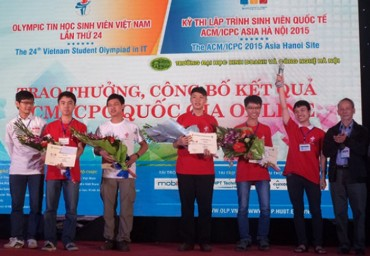 Khai mạc cuộc thi tin học cho sinh viên lớn nhất nước