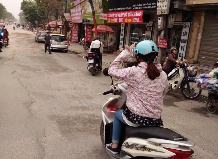 Đoạn đường tiềm ẩn nguy cơ tai nạn