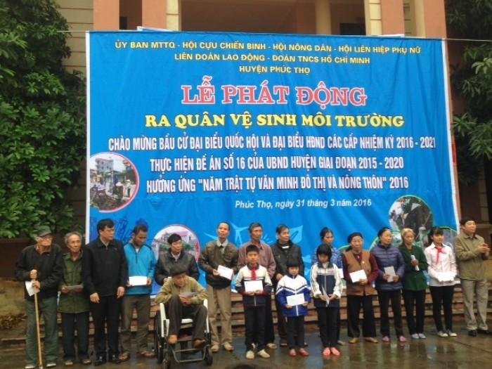 LĐLĐ huyện Phúc Thọ: Tập trung chăm lo cho lao động khó khăn