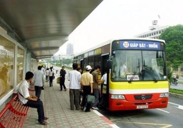 Quí 1/2016, lượng khách đi xe buýt tại Hà Nội giảm