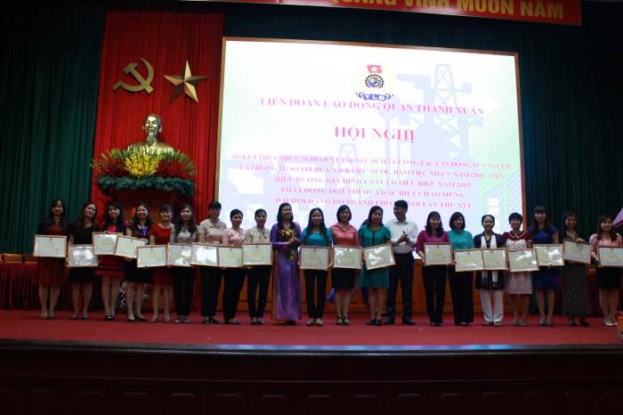 LĐLĐ quận Thanh Xuân: Chú trọng các  hoạt động xã hội