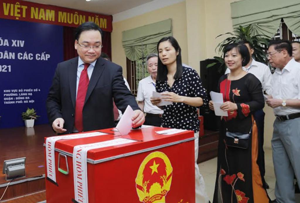 Cuộc bầu cử đã đảm bảo đúng luật và dân chủ