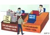 Các doanh nghiệp công ích triển khai cơ chế một cửa