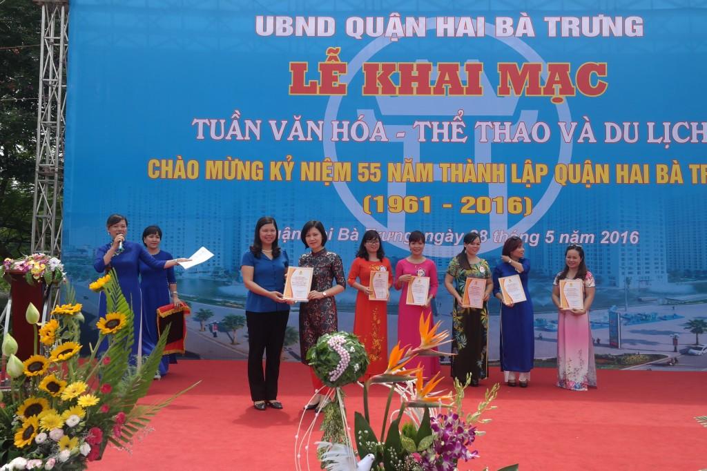 Quận Hai Bà Trưng: Khai mạc tuần lễ Văn hóa - Thể thao - Du lịch