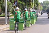 Thử nghiệm xe đạp tuyên truyền vệ sinh môi trường
