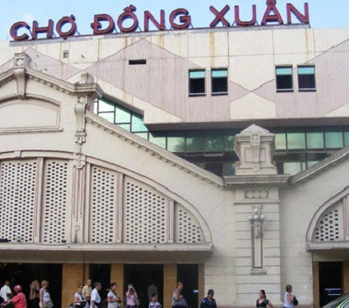 Đề xuất điều chỉnh mức thu phí chợ Đồng Xuân