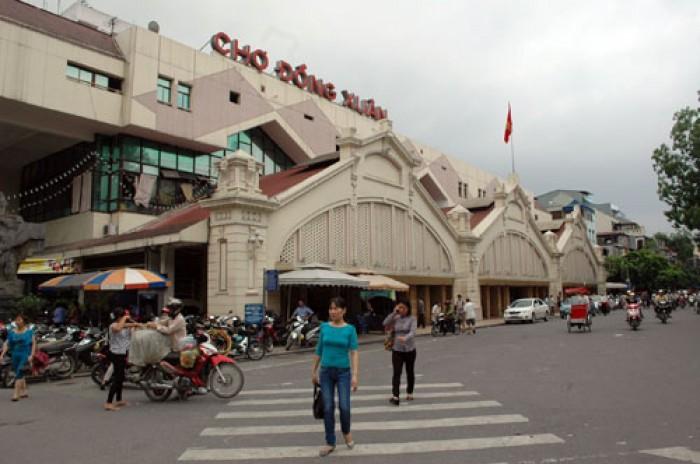 Mức thu phí mới tại chợ Đồng Xuân