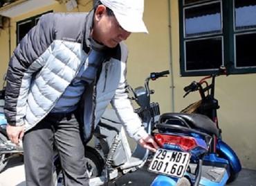 Hà Nội đăng ký hơn 1.100 xe máy điện