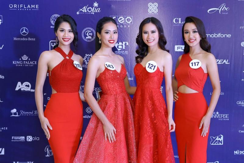 Họp báo công bố Chung kết Hoa hậu Hoàn vũ Việt Nam 2017
