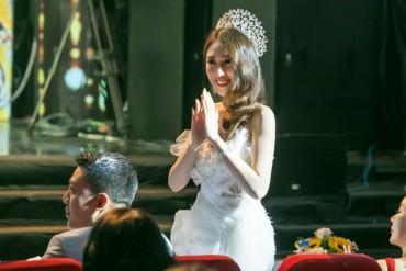 Hoa hậu Hoàng Kim lần đầu làm giám khảo tại cuộc thi nhan sắc