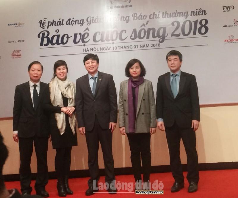 phat dong giai thuong bao chi thuong nien bao ve cuoc song nam 2018