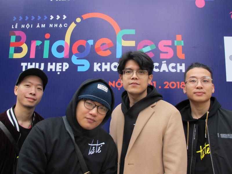 le hoi am nhac bridgefest 2018 thu hep khoang cach tai ha noi
