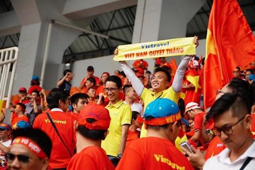 Bay thẳng UAE cổ vũ đội tuyển Việt Nam đấu tứ kết