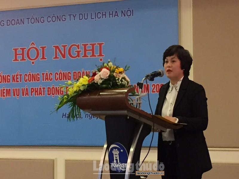 tong cong ty du lich ha noi to chuc hoi nghi tong ket cong tac cong doan nam 2019