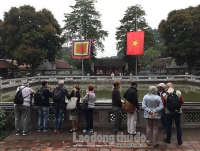 Lượng khách du lịch đến Hà Nội giảm 45,5% so với cùng kỳ