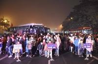 Trực tuyến hình ảnh: Nhộn nhịp những chuyến xe nghĩa tình đưa công nhân về quê đón Tết